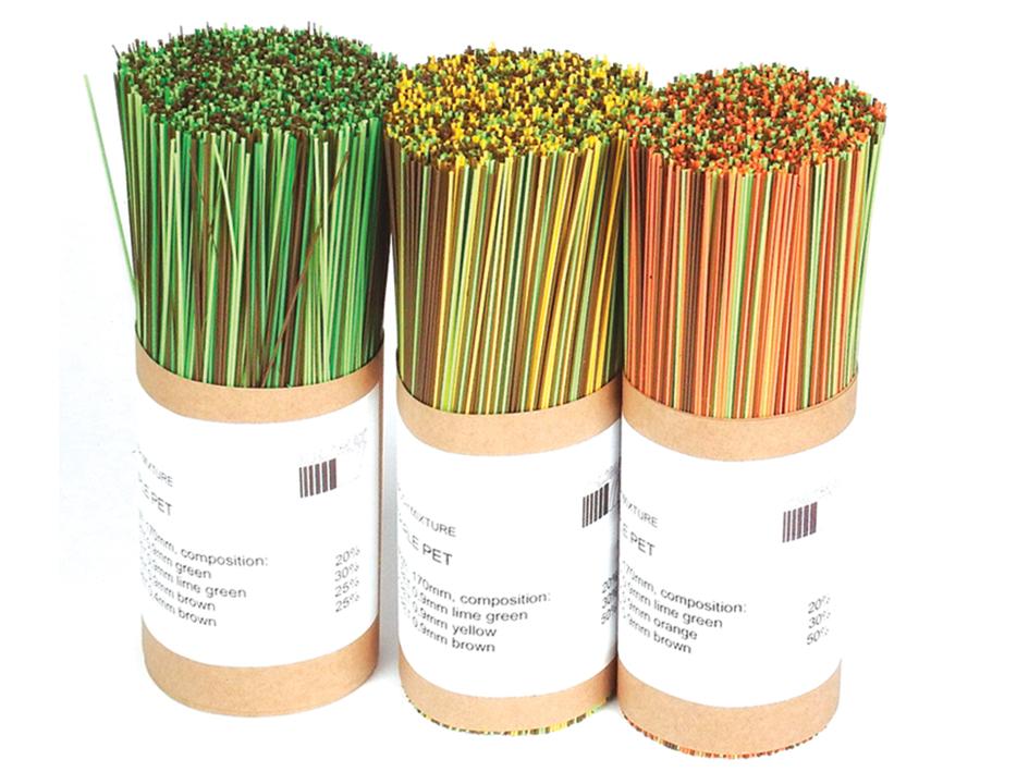 Triple PET Broom Mixtures